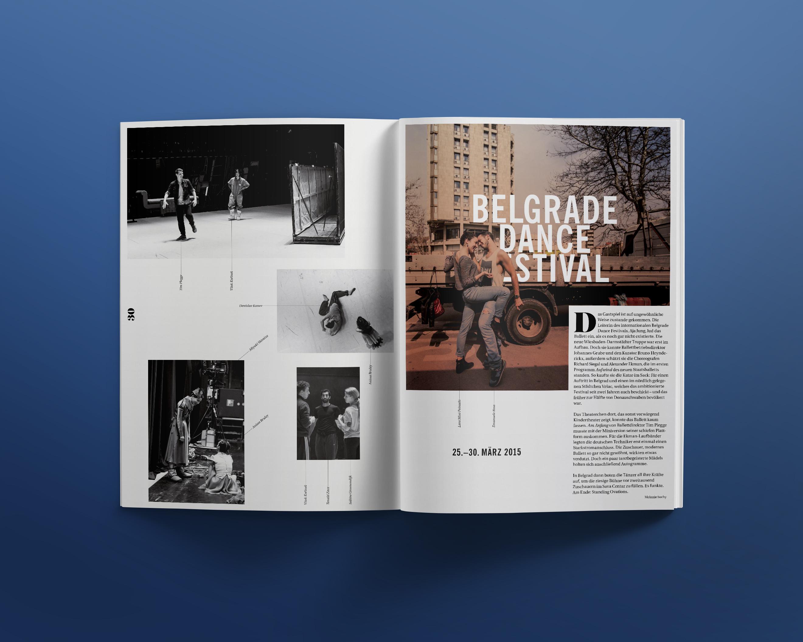 For the love of dance | Q Kreativgesellschaft mbH, Wiesbaden