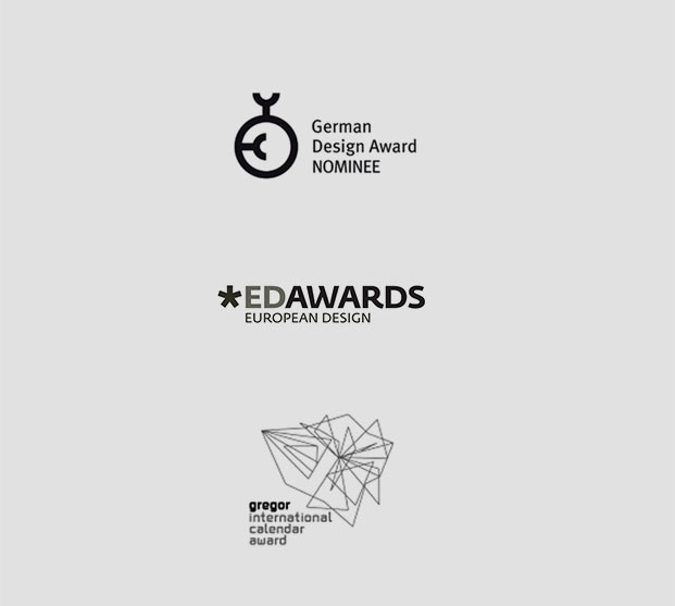 Soka Awards, German Design Award Nominee, European Design Award, gregor international calendar award